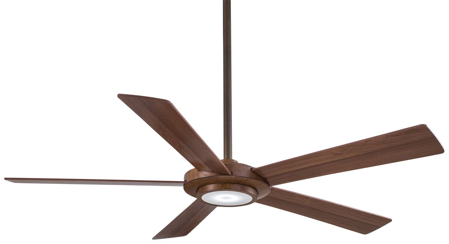 "MinkaAire Sabot 52"" 5 Blade DC Indoor Ceiling Fan with Integrated LED"