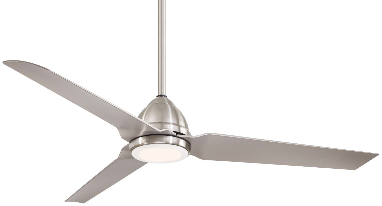 "MinkaAire Java LED Java LED 54"" 3 Blade Outdoor Ceiling Fan with"