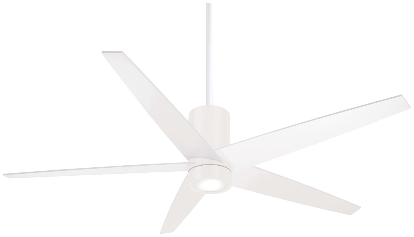 "MinkaAire Symbio 56"" 5 Blade Indoor Ceiling Fan with Integrated LED"