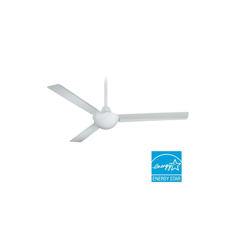 "MinkaAire Kewl 52"" 3 Blade Kewl Energy Star Indoor Ceiling Fan with"