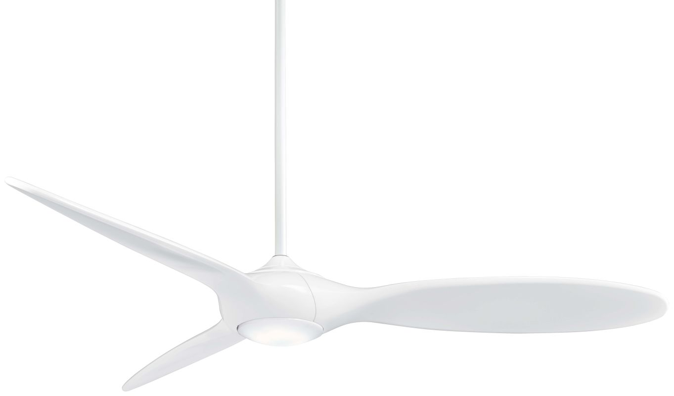 "MinkaAire Force 60"" 3 Blade Indoor Ceiling Fan with Integrated LED"
