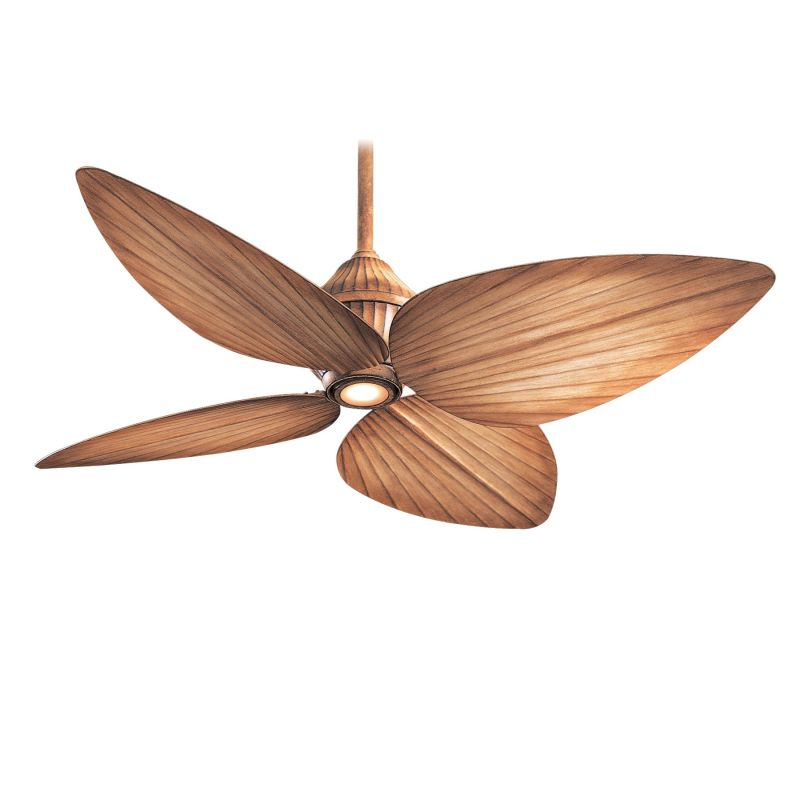 "MinkaAire Gauguin 4 blade 52"" Indoor / Outdoor Ceiling Fan - Light"