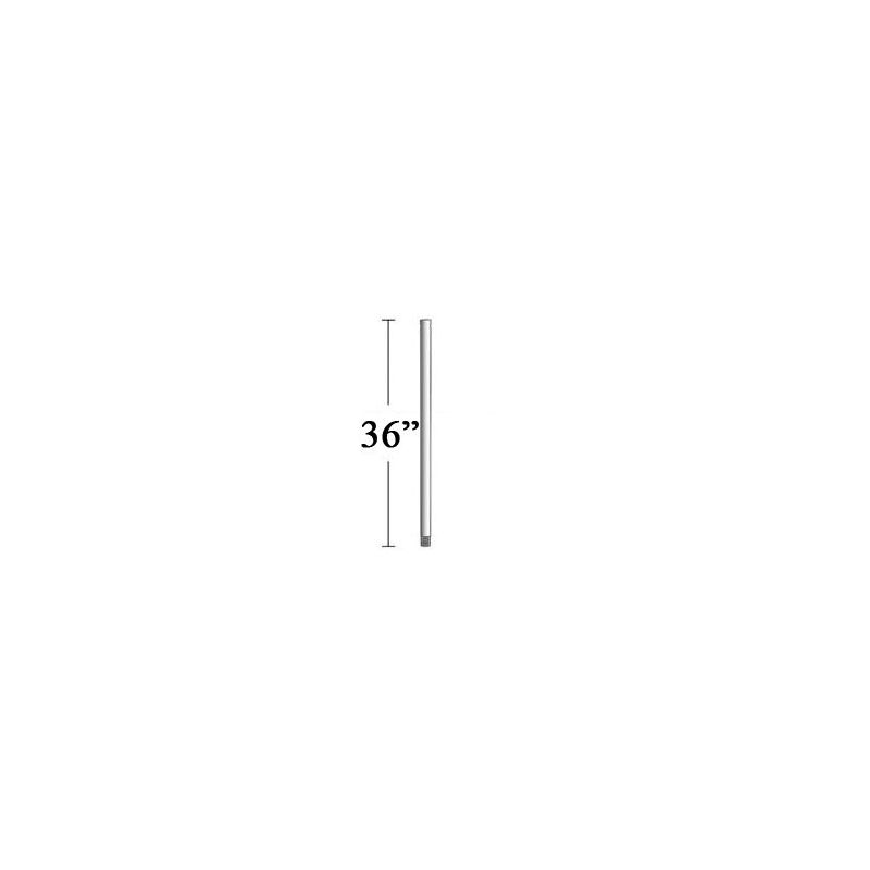 """MinkaAire DR1536 36"""" Downrod for F738 Pancake Indoor Ceiling Fan Flat"""