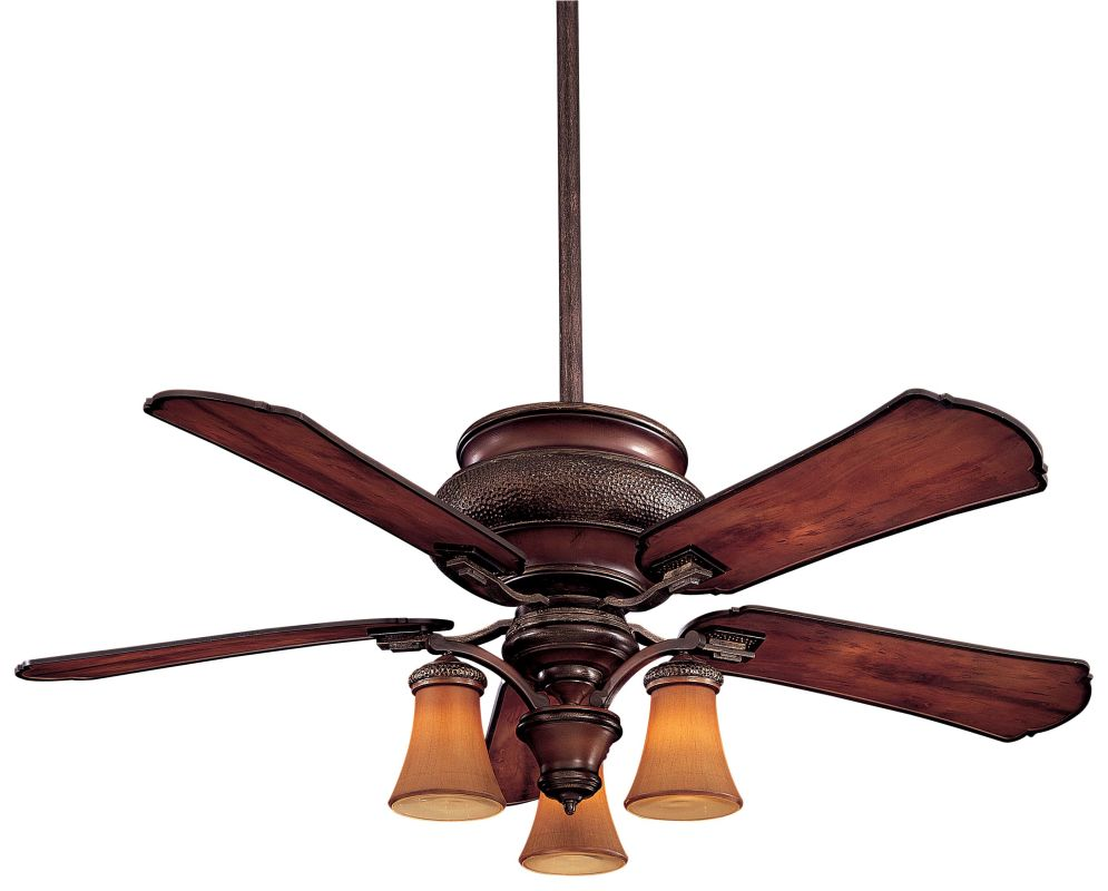 "MinkaAire Craftsman 5 Blade 52"" Indoor / Outdoor Ceiling Fan - Light"