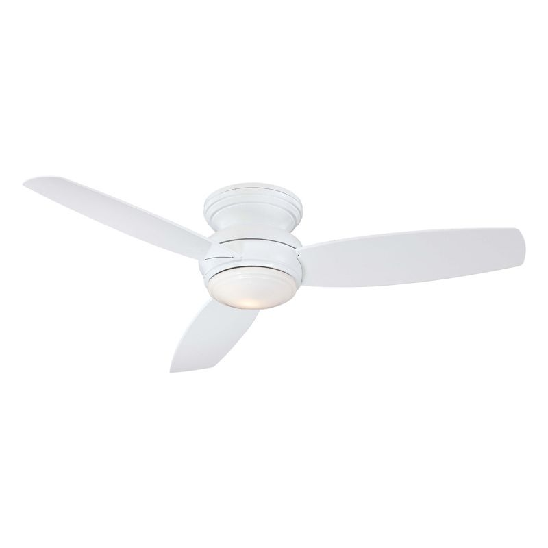 """MinkaAire Traditional Concept 52 3 Blade 52"""" Flush Mount"""