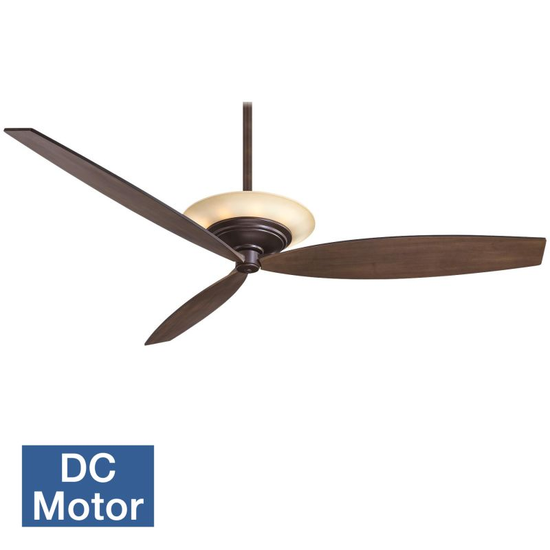"MinkaAire Moda 60"" 3 Blade Indoor Ceiling Fan with DC Motor and"