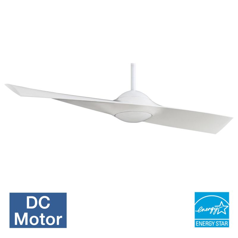 "MinkaAire Wing 1 Blade 52"" Wing Indoor Ceiling Fan - Remote and Blades"