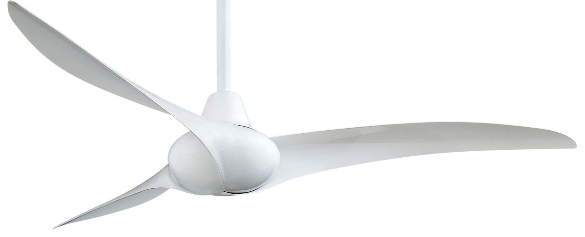 "MinkaAire Wave 52"" 3 Blade Indoor Ceiling Fan with Blades and Remote"