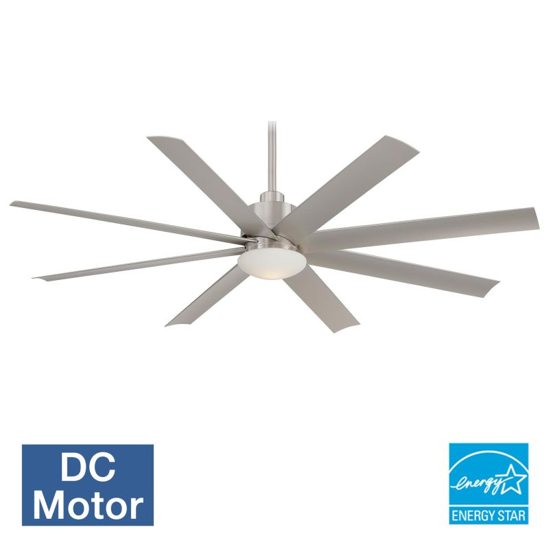 "MinkaAire Slipstream 65"" 8 Blade Indoor / Outdoor Ceiling Fan with"