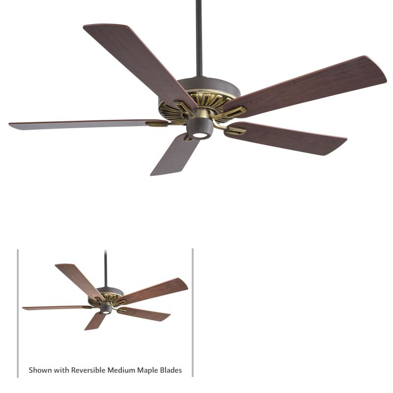 "MinkaAire Iconic 5 Blade 60"" Iconic Indoor Ceiling Fan - Light Remote"