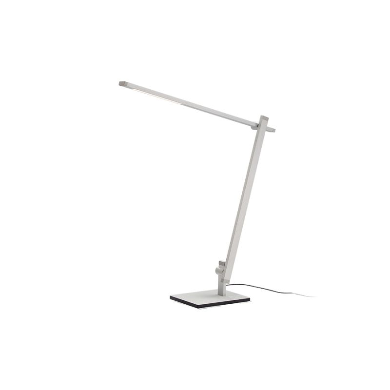 "Modern Forms TL-1010 Balance 3000K High Output LED Adjustable Height Sale $223.50 ITEM#: 2686918 MODEL# :TL-1010-AL Modern Forms TL-1010 Balance LED Desk Lamp Features: Fingertip touch dimming Capable of being fully dimmed - allowing you total control over setting your desired illumination levels Adjustable height and light direction UL and CUL listed for damp locations Made of Aluminum Lamping Technology: LED - Light Emitting Diode: Highly efficient diodes produce little heat and have an extremely long lifespan. Specifications: Adjustable Height: 35.25"" maximum height Base Width: 5.5"" Base Length: 7.875"" Bulb Included: Yes Bulb Type: LED Number of Bulbs: 1 Watts Per Bulb: 11 Wattage: 11 Dimensions: Adjustable Height: 35.26"" maximum height Base Width: 5.5"" Base Length: 7.875"" Electrical Specifications: Bulb Included: Yes Bulb Type: LED Number of Bulbs: 1 Watts Per Bulb: 11 Wattage: 11 Compliance: UL Listed - Indicates whether a product meets standards and compliance guidelines set by Underwriters Laboratories. This listing determines what types of rooms or environments a product can be used in safely. :"