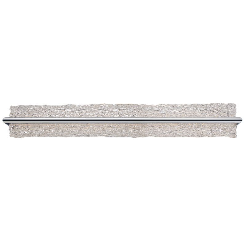 """Modern Forms WS-3937 Vetri 37"""" Dimmable LED Bathroom Light Brushed"""