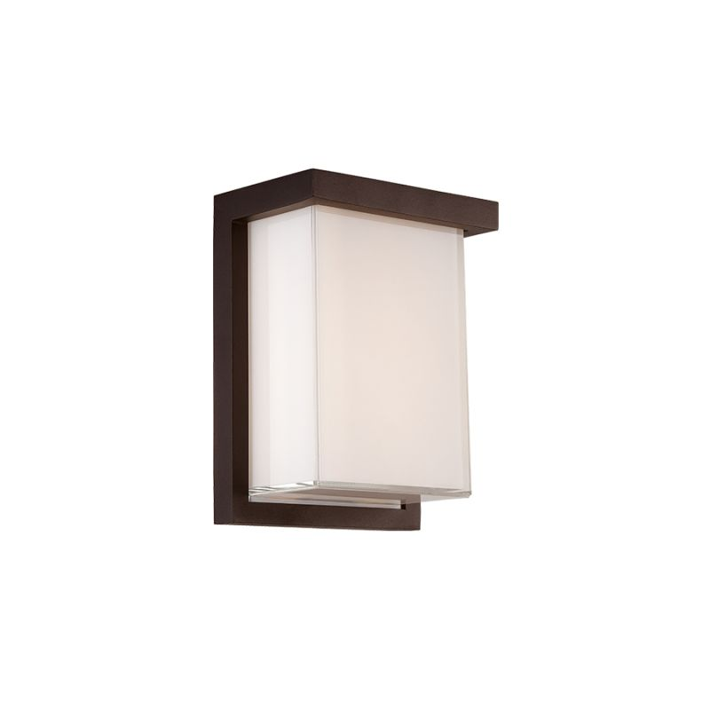 Modern Forms WS-W1408 Ledge 1 Light LED ADA Compliant Outdoor Wall Sale $199.00 ITEM#: 2735420 MODEL# :WS-W1408-BZ UPC#: 790576377957 :