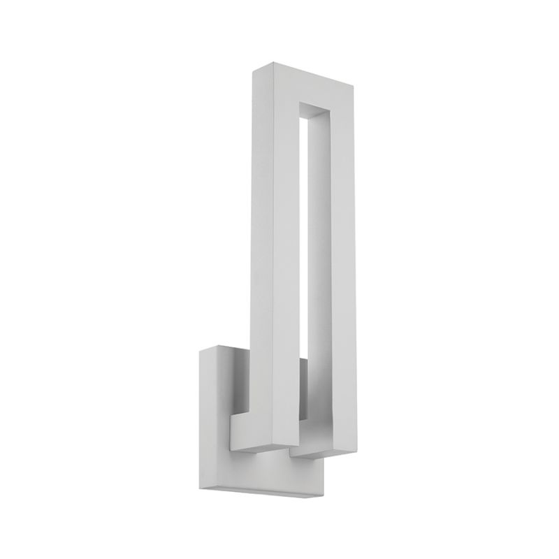 """Modern Forms WS-W1718 Forq 18"""" Indoor / Outdoor Dimmable LED ADA Sale $299.00 ITEM#: 2274831 MODEL# :WS-W1718-WT UPC#: 790576248738 :"""