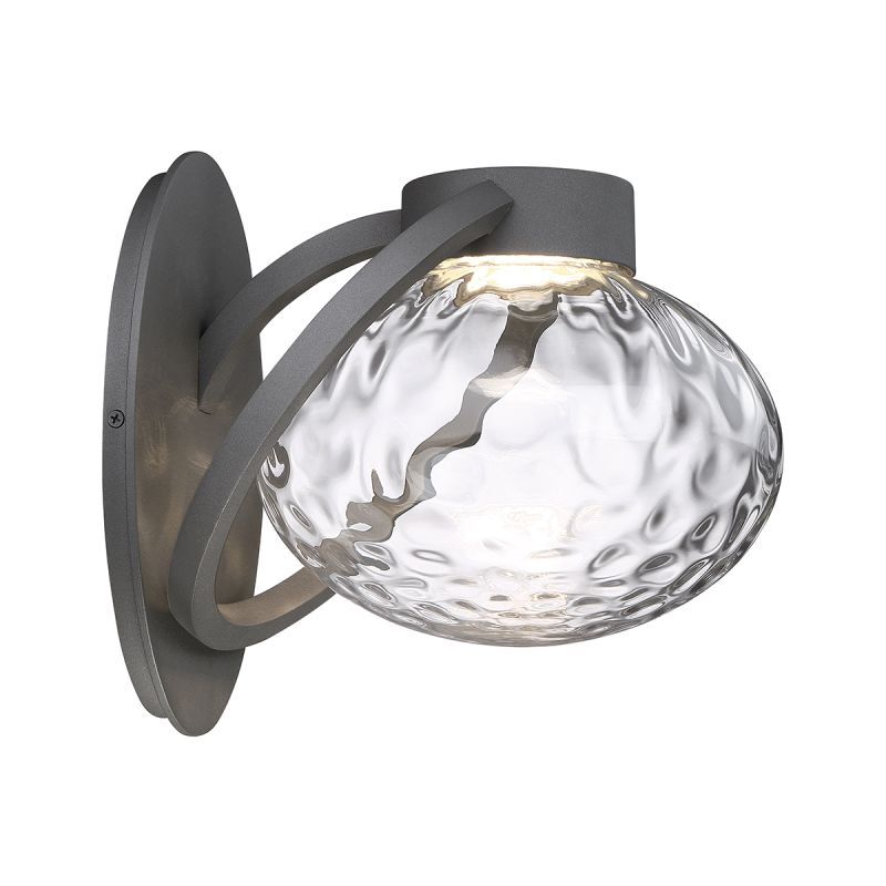 Modern Forms WS-W31511 Boule 1 Light LED Indoor / Outdoor Lantern Wall Sale $183.50 ITEM#: 2686883 MODEL# :WS-W31511-GH UPC#: 790576354149 :