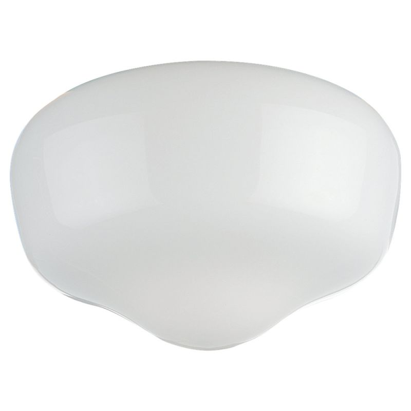 Monte Carlo G101 Opal Schoolhouse Glass Opal Schoolhouse Ceiling Fan