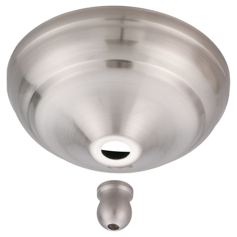Monte Carlo MC97 Replacement Light Kit Finial Brushed Steel Ceiling
