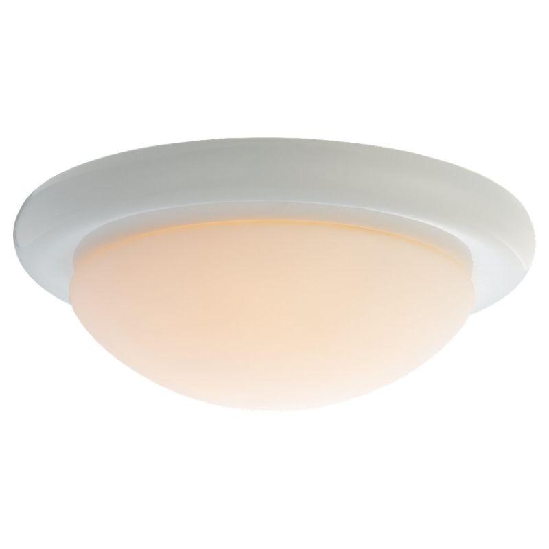 Monte Carlo MC18 Matte Opal Disk Light Kit White / Matte Opal Ceiling