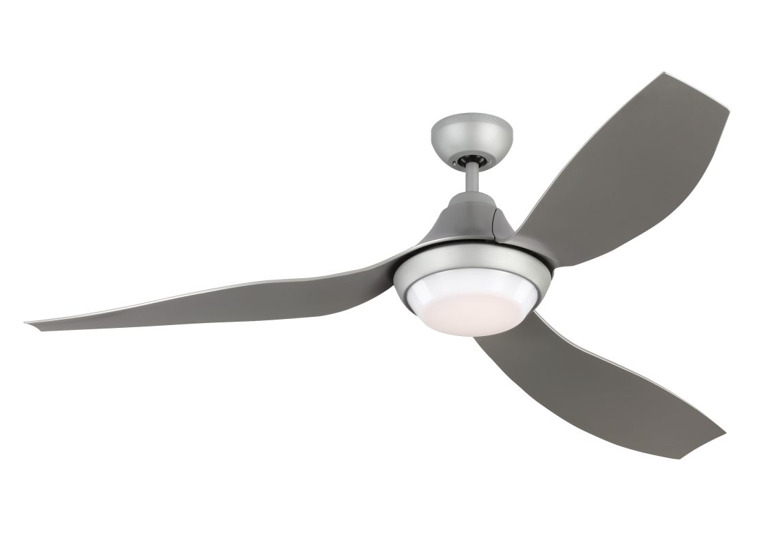 "Monte Carlo Avvo 3 Blade 56"" Indoor Ceiling Fan - Light Kit and Remote"