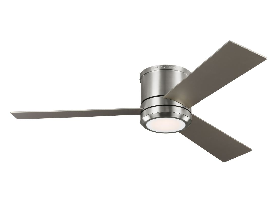 """Monte Carlo Clarity Max 3 Blade 56"""" Indoor Ceiling Fan - Light Kit and"""