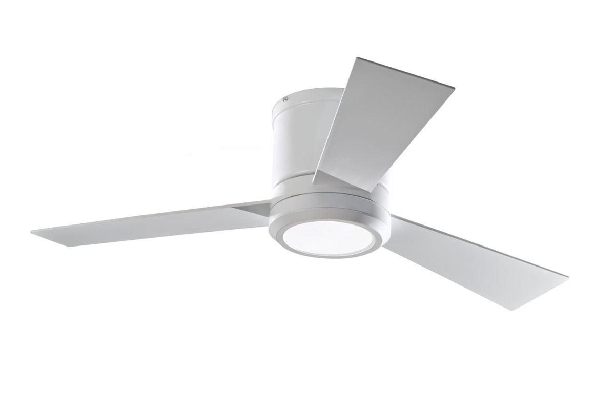"Monte Carlo Clarity II 3 Bladed 42"" Indoor Ceiling Fan - LED Light"