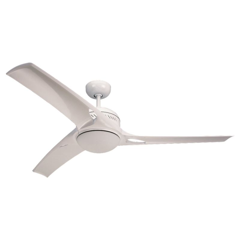 "Monte Carlo Mach One Three Bladed 52"" Indoor Ceiling Fan with Included"