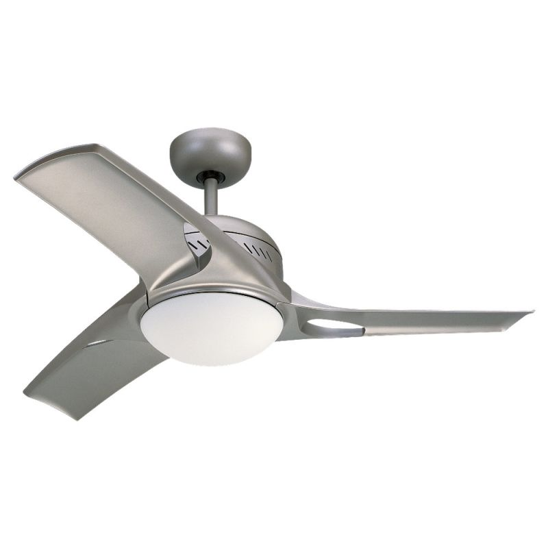 "Monte Carlo Mach Two Three Bladed 38"" Indoor Ceiling Fan with Included"