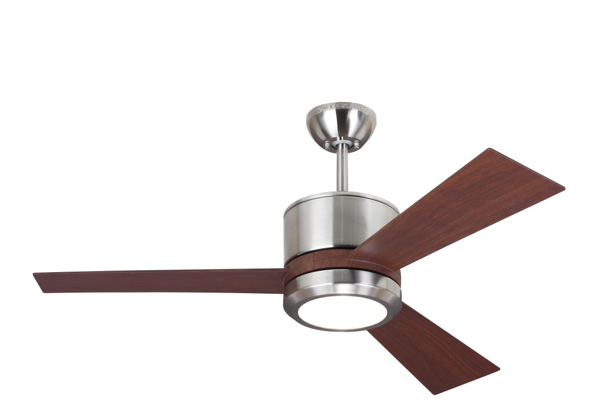 "Monte Carlo Vision II 3 Bladed 42"" Indoor Ceiling Fan - LED Light Kit"