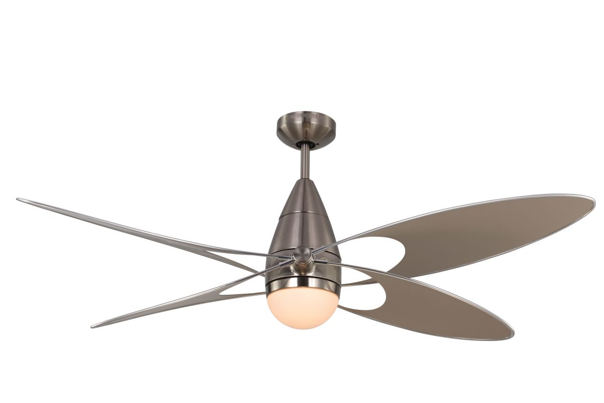 "Monte Carlo Butterfly 4 Bladed 54"" Indoor/Outdoor Ceiling Fan - Light"
