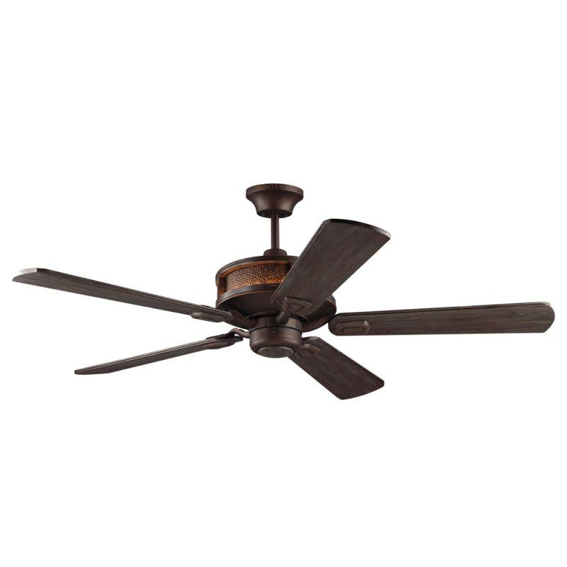 "Monte Carlo Artizan Artizan 5 Blade 56"" Ceiling Fan - LED Uplight"