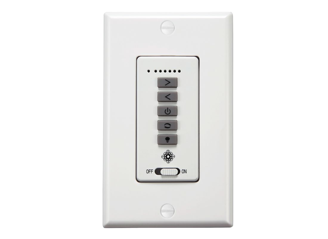 Monte Carlo ESSWC-7 6 Speed Wall Control for Monte Carlo Fans White