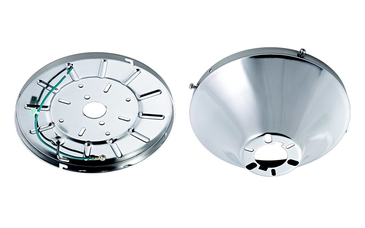 Monte Carlo MC192 Wet Rated Heavy Duty Flush Mount Canopy Polished
