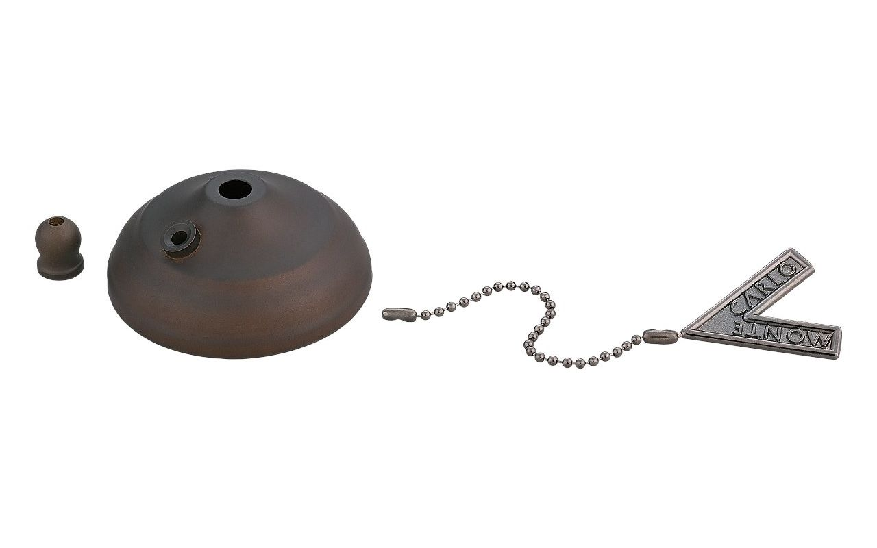 Monte Carlo MC83 Pull Chain Bowl Cap Kit Roman Bronze Ceiling Fan