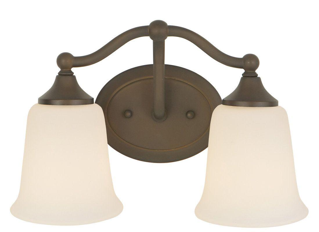 Feiss Barrington 2 Light Vanity Fixture Oil Rubbed Bronze: Murray Feiss Vs12402orb Oil Rubbed Bronze Vanity Light