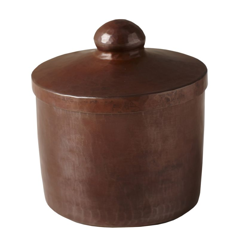 "Native Trails CPB32 3"" Handcrafted Copper Canister Antique Copper Home"