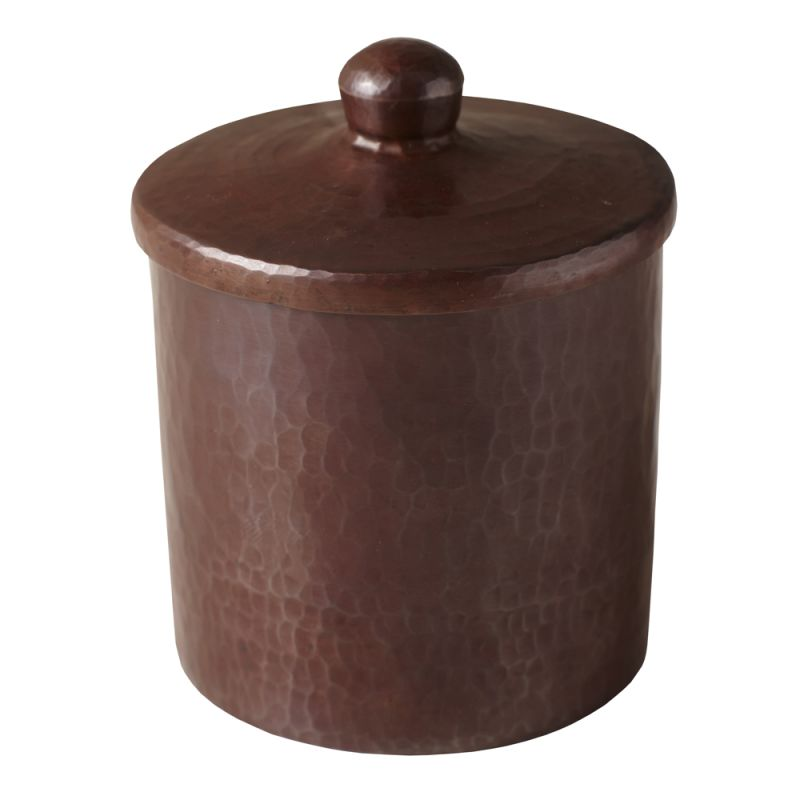 "Native Trails CPB34 4"" Handcrafted Copper Canister Antique Copper Home"