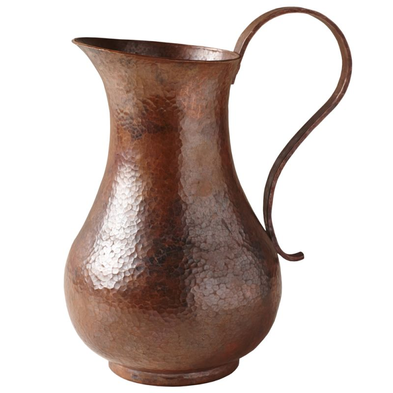 Native Trails CPB82 Los Olivos Handcrafted Copper Pitcher Tempered