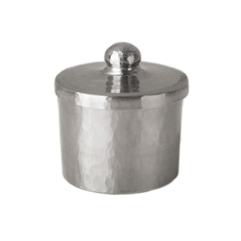 "Native Trails CPB32 3"" Handcrafted Copper Canister Brushed Nickel Home"