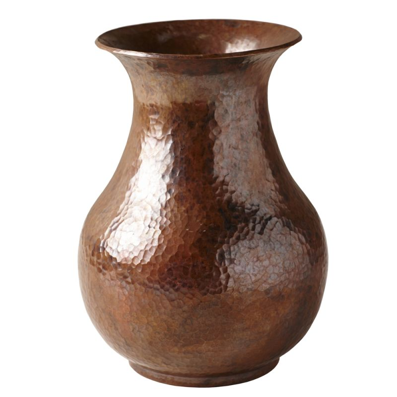 Native Trails CPV80 Santa Cruz Vase in Brushed Nickel Tempered Copper
