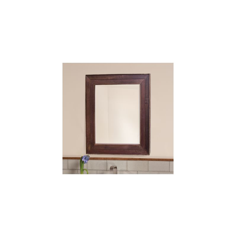 "Native Trails MR134 Cabernet 29"" x 33"" Rectangular Wall Mounted Mirror"