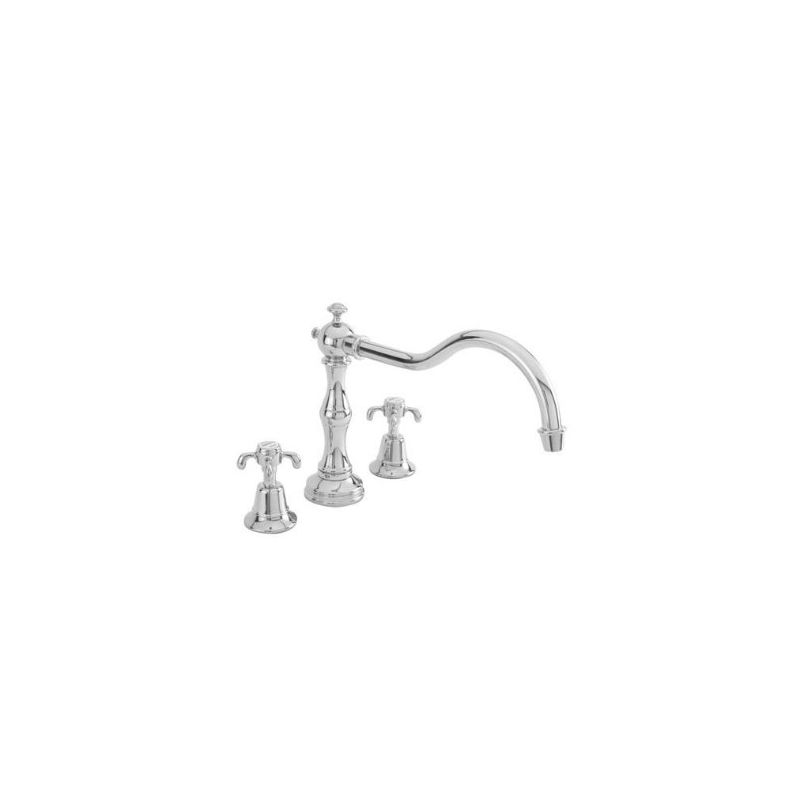 Newport Brass 3-1686 Virginia Double Handle Roman Tub Faucet with