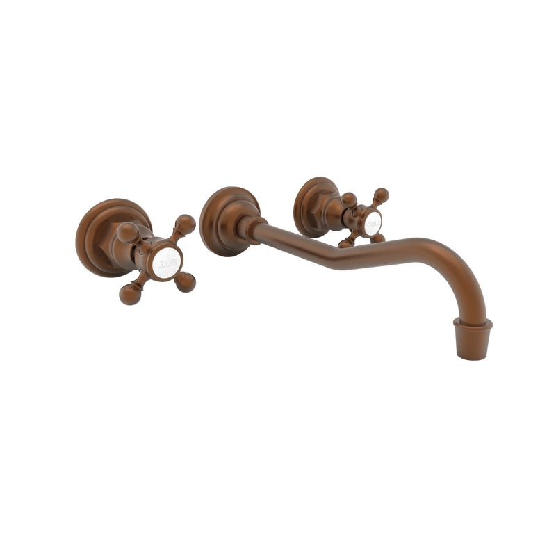 Newport Brass 3-944 Chesterfield Double Handle Widespread Wall Mounted