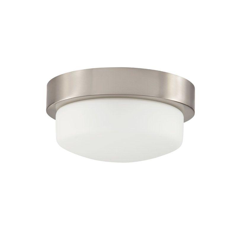 "Park Harbor PHFL4071 11"" Wide Single Light Flush Mount Ceiling Fixture Sale $76.04 ITEM#: 2852480 MODEL# :PHFL4071BN UPC#: 781889294321 :"