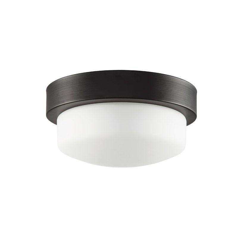 "Park Harbor PHFL4071 11"" Wide Single Light Flush Mount Ceiling Fixture Sale $70.03 ITEM#: 2852846 MODEL# :PHFL4071ORB UPC#: 781889296585 :"