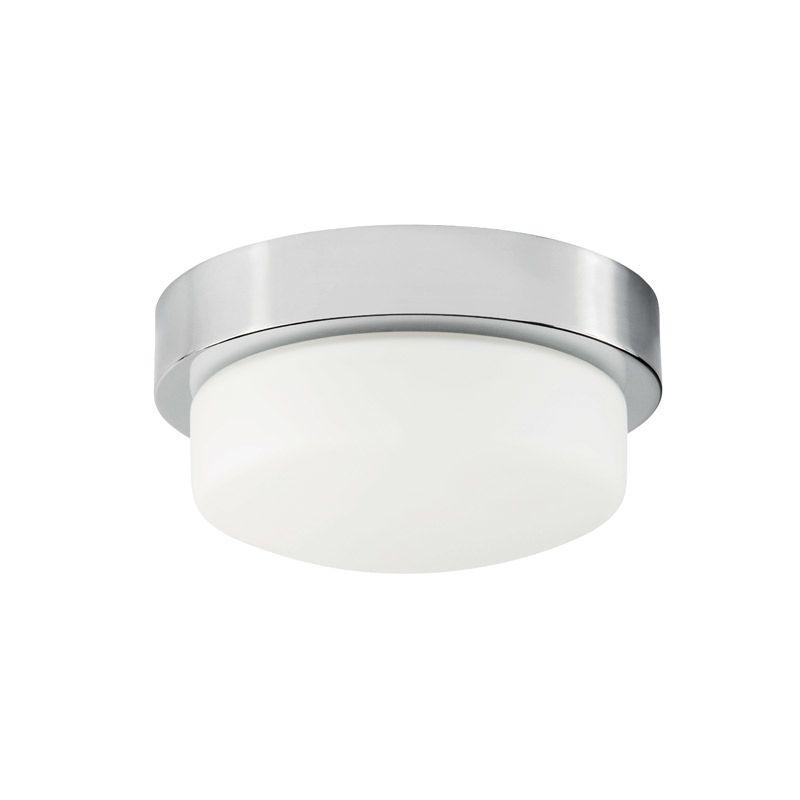 "Park Harbor PHFL4071 11"" Wide Single Light Flush Mount Ceiling Fixture Sale $76.04 ITEM#: 2852705 MODEL# :PHFL4071PC UPC#: 781889294338 :"