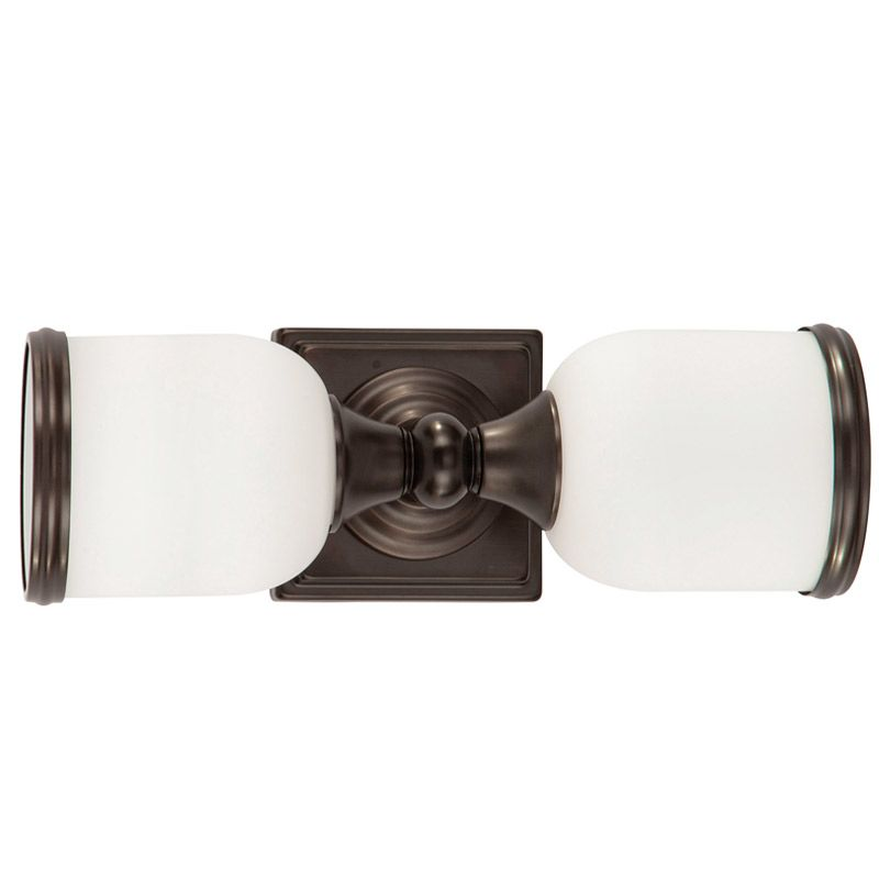 "Park Harbor PHVL2082 Thornton 14"" Wide 2 Light Bathroom Fixture Plated"