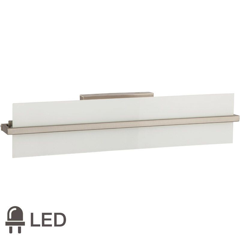 Park Harbor PHVL2271LED 1 Light LED Bathroom Vanity Brushed Nickel