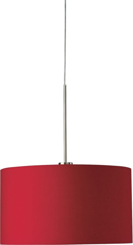 Philips 36275 Roomstylers 1 Light Drum Pendant with Fabric Shade