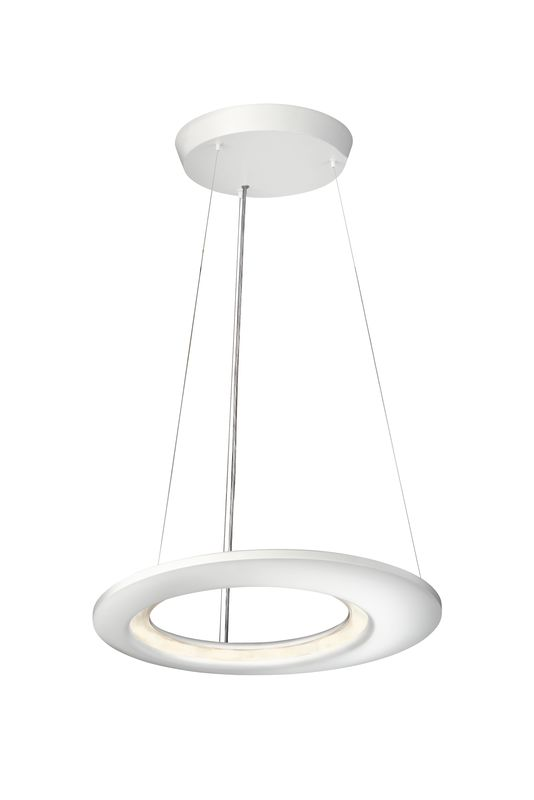 Philips 40756 Ecliptic 12 Light LED Pendant Matte White Indoor