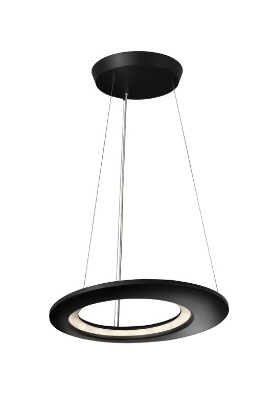 Philips 40756 Ecliptic 12 Light LED Pendant Anthracite Indoor Lighting